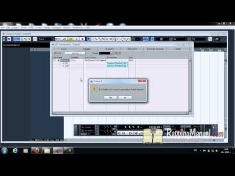 Cubase 5-Set up and Recording Vocals for Rappers(Part 1)