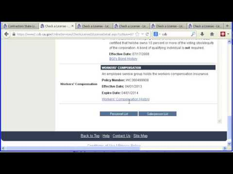 How to Check CSLB License