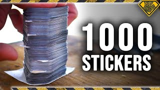 Download Can 1,000 Stickers Catch a Bullet? Video