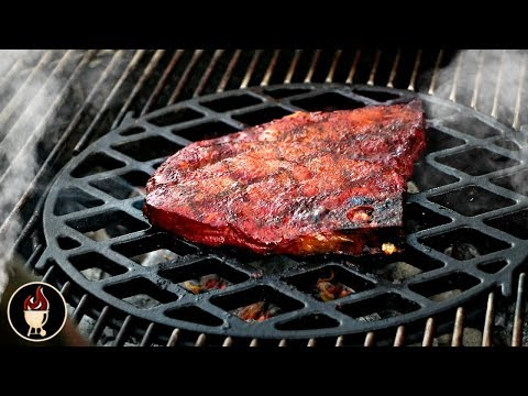 Grilled Pork Steaks On The Weber Grill | Smoked BBQ Pork Steaks Recipe