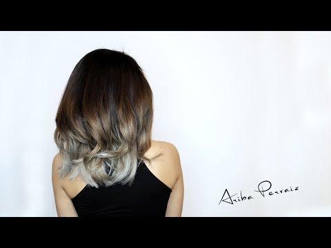 Ash Blonde Balayage - Hair Makeover | ARIBA PERVAIZ
