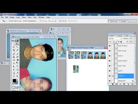 photoshop tutorial,passport photo size,