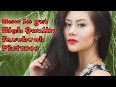 How to get High Quality Facebook Photos