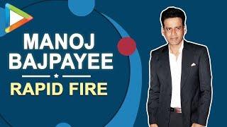Ram Gopal Varma ya Anurag Kashyap!!! Manoj Bajpayee's BRUTALLY honest RAPID FIRE