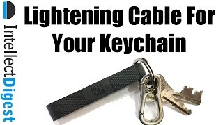 Apple Lightening Cable for Your Keychain- Nu Ans BandWire | Intellect Digest