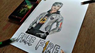 Como Colorir O Hayato Free Fire How To Draw Free Fire