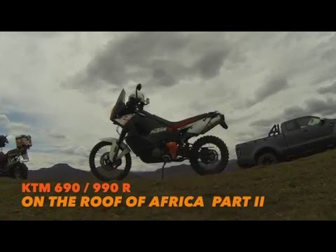 KTM 690 on Roof of Africa Part 2