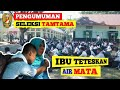 MENGHARUKAN,. Pengumuman Tamtama TNI AD 2019