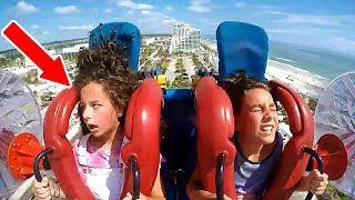 Kids Passing Out #5 | Funny Slingshot Ride Compilation