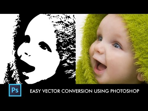 How to Convert Any Image into Vector Easily using Photoshop