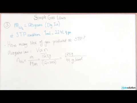 Chemistry I: How to find Volume and STP Conditions (Easy Lvl Question)