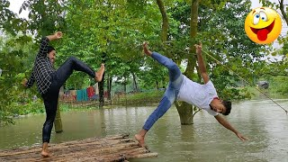 TRY NOT TO LAUGH CHALLENGE /must watch Top Funny Video 2020 /By Bindass Club