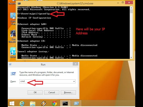 How to Check IP Address of PC & Laptop (Windows 7,8 & 8.1)