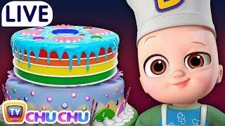 Pat A Cake Many More Nursery Rhymes Kids Songs ChuChu TV LIVE