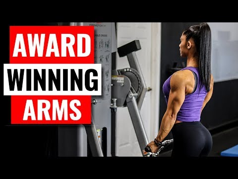 ARM Exercises in the GYM For Women  |  BEST Training Results