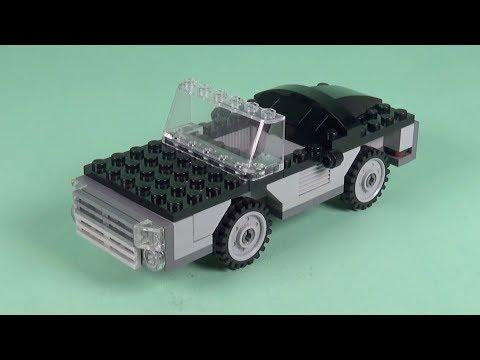 LEGO Car (033) Building Instructions - LEGO Bricks How To Build - DIY