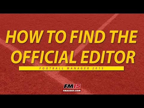 How to install Football Manager 15 Editor