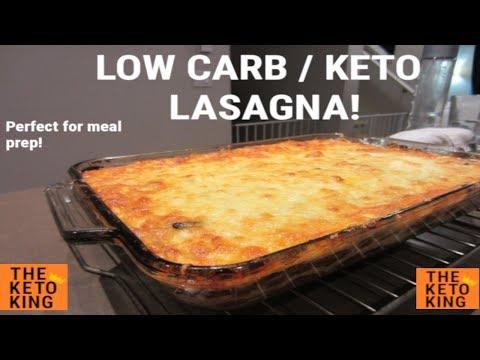 Easy Low Carb Lasagna | Easy Egg Plant Lasagna | Easy Keto Lasagna