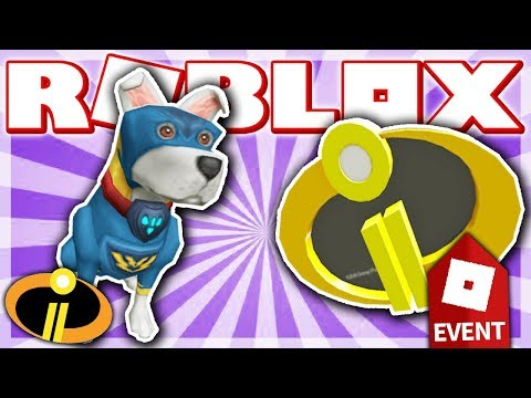 HOW TO GET THE BATTLE PUP & INCREDIBLES 2 BADGE!! (ROBLOX HEROES EVENT 2018 - Superhero Life 2!)