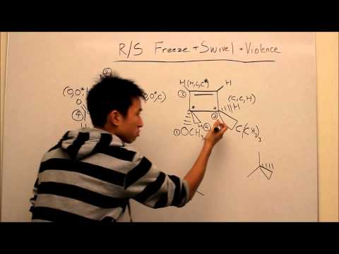 R and S Chiral Centers Made Easy! Part 2 - Complicated Situations - Organic Chemistry