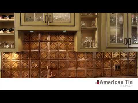 Tin Tile Backsplashes Overview | American Tin Ceilings