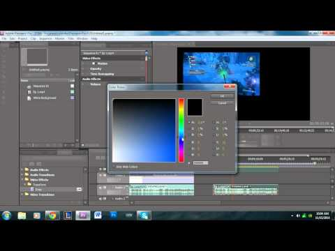How to Apply a Background to a Video in Adobe Premiere Pro