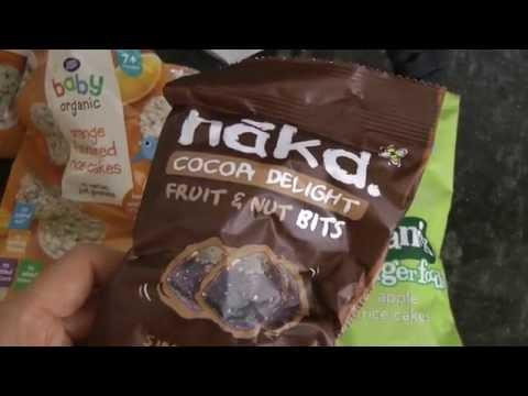 Low calorie, vegan, gluten, sugar and oil free snacks