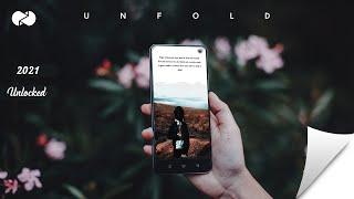 UNFOLD FULLPACK ALL TEMPLATE UNLOCKED | UNFOLD — CREATE