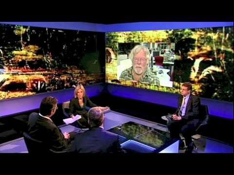 Badger Debate BBC2 Newsnight 25 September 2012