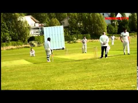 Aussie left arm quick bowling for Ramsey cricket club England May 2015