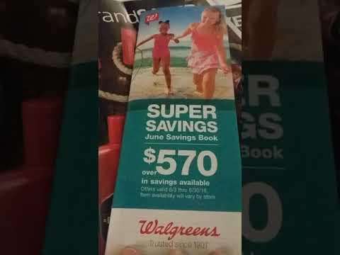 Walgreens -saving books