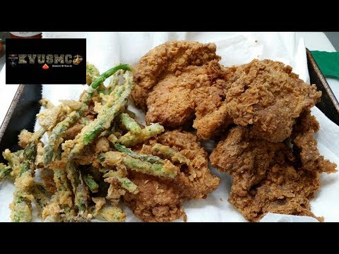 Fried Chicken Southern Style (Crispy)Corn Starch Recipe By KVUSMC
