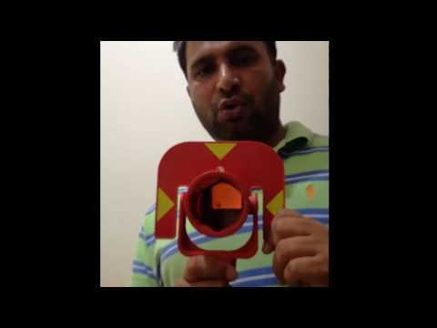 Leica Totalstation  TS02 ,06,09 Prism Value Urdu Handi