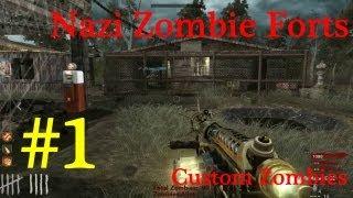 CoD WaW Custom Zombies: Neighborhood part 1  ITAZ Cavanna ...
