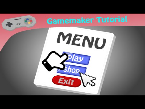 Gamemaker Tutorial ~ Making Touchable and Clickable Menu's