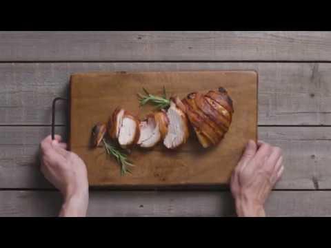 Planked Wild Turkey Breasts