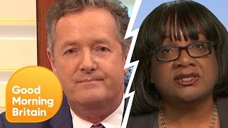 Piers Clashes With Diane Abbott During Nuclear Weapons Debate | Good Morning Britain