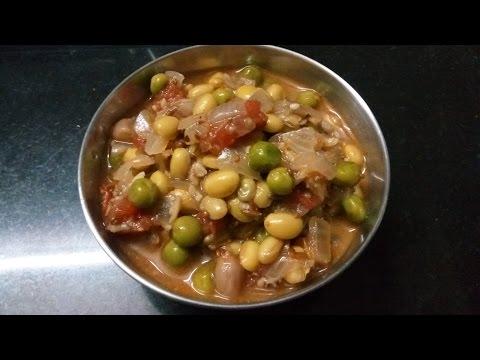 PAPDI Sabzi | North indian recipe in tamil |  Gujarati famous dish