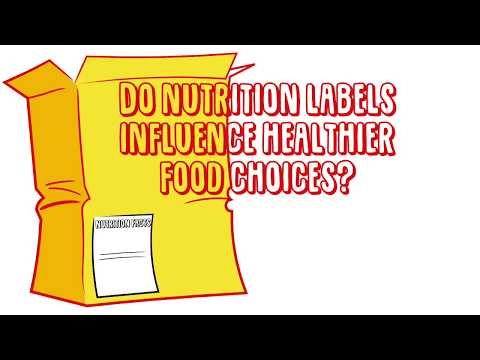 Do Nutrition Labels Influence Healthier Food Choices?