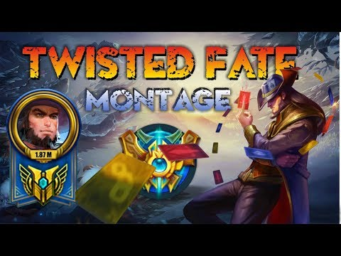 Twisted Fate Montage - Best Twisted Fate Plays - Twisted Fate Pentakill Compilation - League of Leg