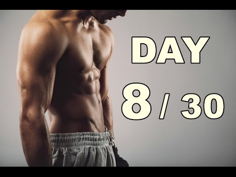 Day 8/30 Abs Workout (30 Days Abs Workout) Home Workout