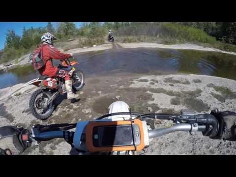 YZ450f Trail Riding