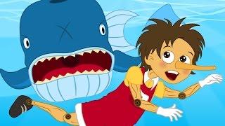 Pinocchio cartoni animati italiano - Favole per bambini raccontate