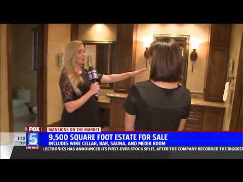Fox 5 News Showcases 8092 Doug Hill in Mansions on the Market