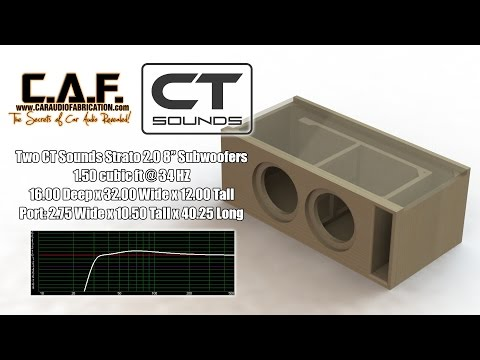 CT Sounds How To | Build a Subwoofer Box for Strato 8