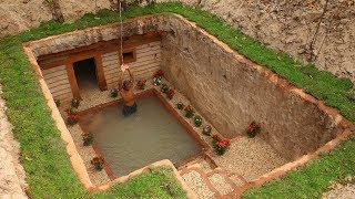 Download Dig to build Most Awesome Underground House and Underground Swimming Pool Video