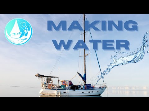 How to make WATER on a yacht ~ Watermaker - Episode 28 (Sailing Catalpa)