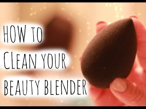 How To Clean Your Beauty Blender | Fast & Cheap