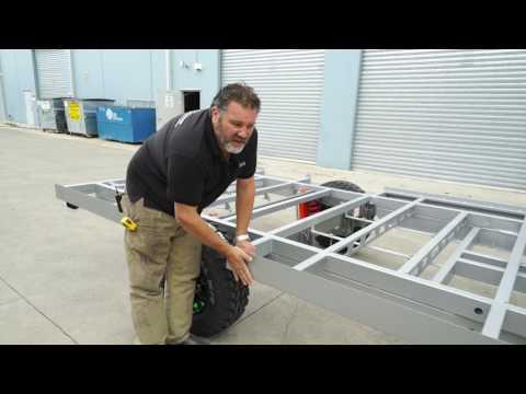 Episode 2 on how to build a Van Cruiser Caravan by Enzo