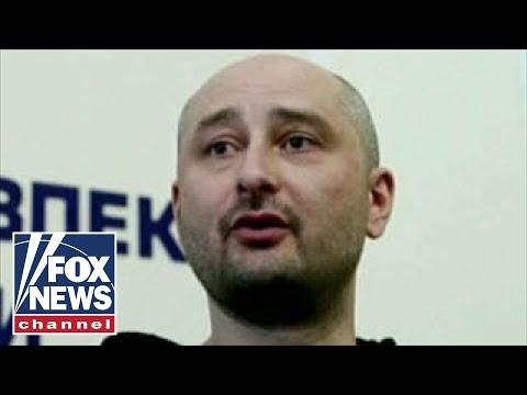 Russian journalist fakes assassination